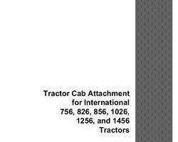 Operator's Manual for Case IH Tractors model 1456