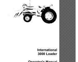 Operator's Manual for Case IH Skid steers / compact track loaders model 3000