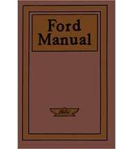 1909 Ford Model T Owner's Manual
