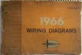 1966 Ford F-100 Truck Large Format Electrical Wiring ...