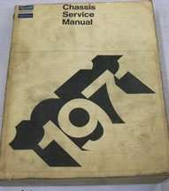 1971 Plymouth Road Runner Chassis Service Manual