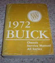 1972 Buick Lesabre Chassis Service Manual
