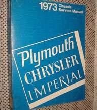 1973 Chrysler Imperial Chassis Service Manual