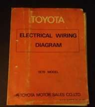 1979 Toyota Celica Electrical Wiring Diagram Manual