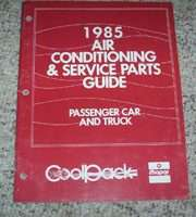 1985 Dodge 600 Air Conditioning & Service Parts Guide
