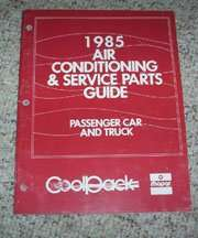 1985 Chrysler Executive Air Conditioning & Service Parts Guide