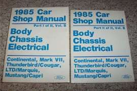 1985 Ford LTD Body, Chassis & Electrical Service Manual