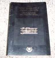 1985 Cadillac Deville, Fleetwood Owner's Manual
