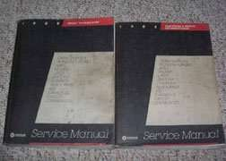 1985 Chrysler Town & Country Service Manual