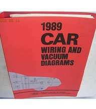 1989 Lincoln Continental Large Format Wiring Diagrams Manual