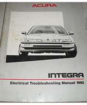 1992 Acura Integra Electrical Troubleshooting Manual