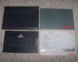 1994 Acura Integra 4 Door Owner's Manual Set