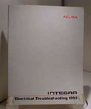1995 Acura Integra Electrical Wiring Diagram Manual