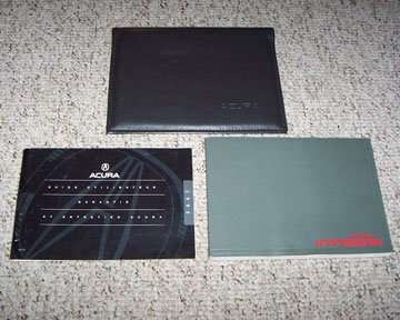 1995 Acura Integra 3 Door Owner's Manual Set