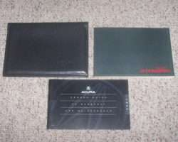 1995 Acura Integra 4 Door Owner's Manual Set