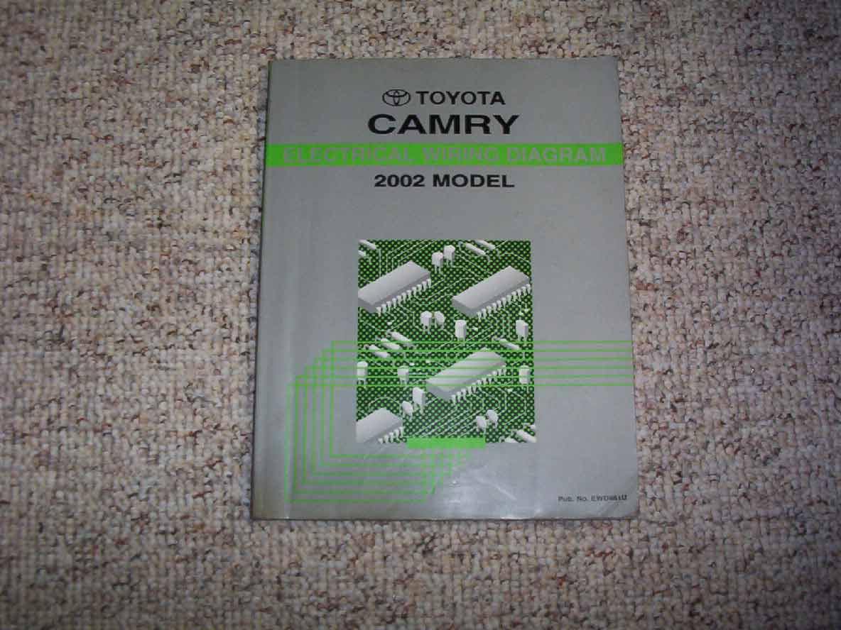 2002 Toyota Camry Electrical Wiring Diagram Manual