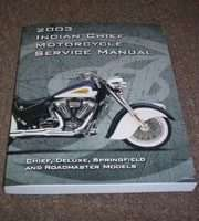 2003 Indian Chief Models Motorcycle Shop Service Repair Manual