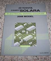 2008 Toyota Camry Solara Electrical Wiring Diagram Manual