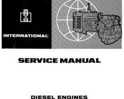 Service Manual for Case IH Tractors model 724