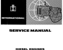 Service Manual for Case IH Tractors model 624