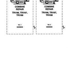 Service Manual for New Holland Combine model TR97