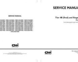 Service Manual for New Holland Engines model F5BFL413D*B003