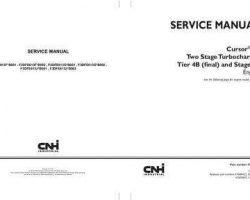Service Manual for New Holland Engines model F3DFE613J*B002