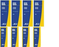 Service Manual for New Holland Combine model CR960