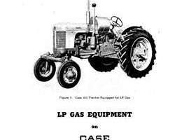 Operator's Manual for Case IH Tractors model 400