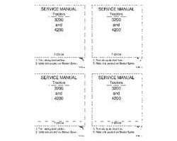 Service Manual for Case IH Tractors model 4230