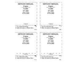 Service Manual for Case IH Engines model 4T-390