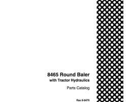 Parts Catalog for Case IH Tractors model 8465