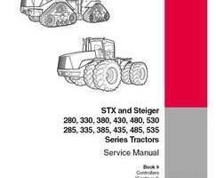 Service Manual for Case IH Tractors model STX335