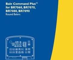 Operator's Manual for New Holland Balers model BR7080