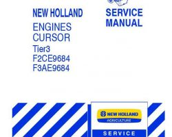 Service Manual for New Holland Engines model F3AE9684