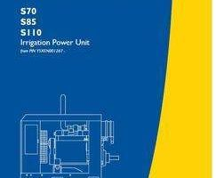 Operator's Manual for New Holland Engines model S110