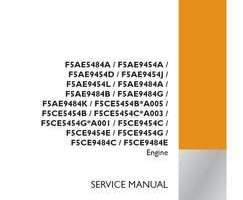 Service Manual for Case IH TRACTORS model 450CT