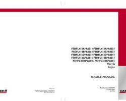Service Manual for Case IH TRACTORS model 60