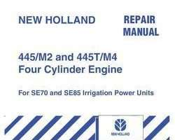 Service Manual for New Holland Engines model SE85