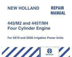 Service Manual for New Holland Engines model 445