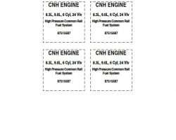 Service Manual for Case IH TRACTORS model 2377