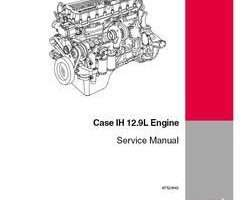 Service Manual for Case IH Tractors model STX430
