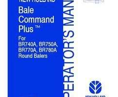Operator's Manual for New Holland Balers model BR750A