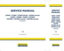 Service Manual for New Holland Combine model CL6060