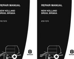 Service Manual for New Holland Balers BR550 BR560A