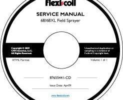 Service Manual on CD for Case IH Sprayers model 68XL