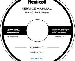 Service Manual on CD for Case IH Sprayers model 68