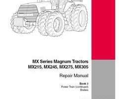 Service Manual for Case IH Tractors model Magnum 215