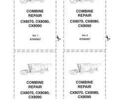 Service Manual for New Holland Combine model CX8080