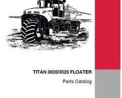 Parts Catalog for Case IH Sprayers model 3520